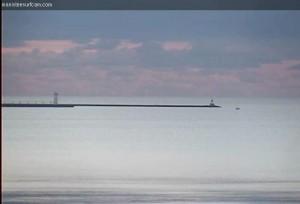 November 3rd, 2013.  Calm day on Lake Michigan.
