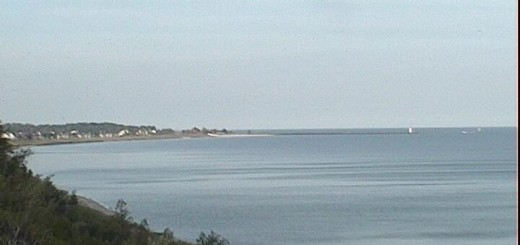 Beautiful and calm on the big lake this morning.